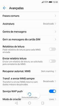 Huawei Mate 9 - SMS - Como configurar o centro de mensagens -  8