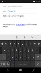 Microsoft Lumia 550 - E-mail - Hoe te versturen - Stap 8