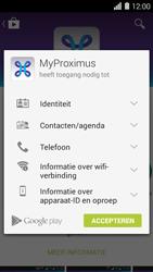 Huawei Ascend Y550 - Applicaties - MyProximus - Stap 8