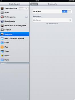 Apple iPad - Bluetooth - koppelen met ander apparaat - Stap 6