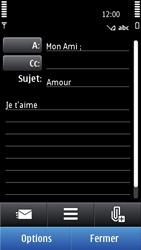 Nokia C7-00 - E-mail - envoyer un e-mail - Étape 8