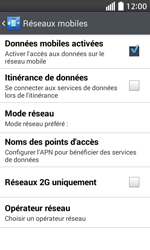 LG L70 - Internet - Configuration manuelle - Étape 6