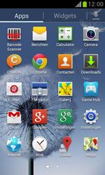 Samsung S7560 Galaxy Trend - Instellingen aanpassen - Fabrieksinstellingen terugzetten - Stap 3
