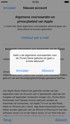 Apple iPhone 6 (iOS 10) - apps - account instellen - stap 11
