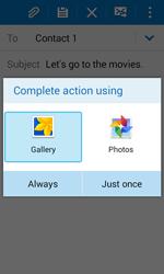 Samsung G388F Galaxy Xcover 3 - E-mail - Sending emails - Step 13