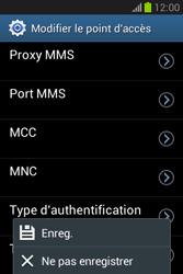 Samsung S6790 Galaxy Fame Lite - Internet - configuration manuelle - Étape 17