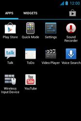 Acer Liquid Z3 - Internet - Manual configuration - Step 3