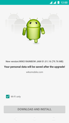 Wiko Rainbow Jam - Dual SIM - Device - Software update - Step 8