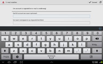 Samsung N8020 Galaxy Note 10-1 LTE - E-mail - Handmatig instellen - Stap 17