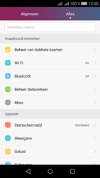 Huawei Huawei Y5 II - Wifi - handmatig instellen - Stap 2