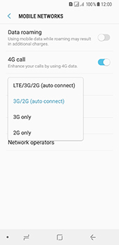 Samsung Galaxy A8 (2018) - Network - Enable 4G/LTE - Step 7