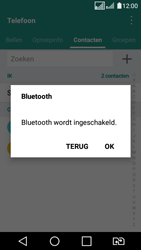 LG K4 (2017) (LG-M160) - Contacten en data - Contacten overzetten via Bluetooth - Stap 10