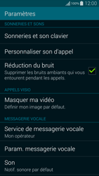 Samsung G850F Galaxy Alpha - Messagerie vocale - Configuration manuelle - Étape 5