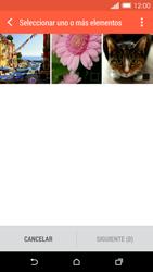 HTC One M8 - Bluetooth - Transferir archivos a través de Bluetooth - Paso 8