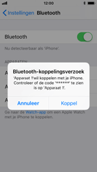 Apple iPhone SE - iOS 11 - WiFi en Bluetooth - Bluetooth koppelen - Stap 6