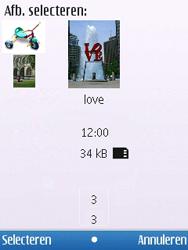 Nokia 6700 slide - MMS - hoe te versturen - Stap 12