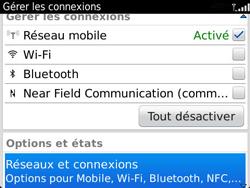 BlackBerry 9360 Curve - Internet - Utilisation à l