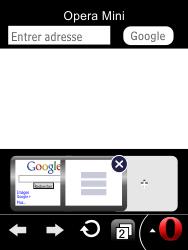 LG T385 - Internet et connexion - Naviguer sur internet - Étape 19