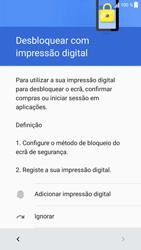 Sony Xperia XZ - Android Nougat - Primeiros passos - Como ligar o telemóvel pela primeira vez -  12