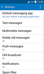 Samsung J100H Galaxy J1 - SMS - Manual configuration - Step 6