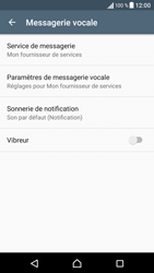Sony Sony Xperia E5 (F3313) - Messagerie vocale - Configuration manuelle - Étape 6