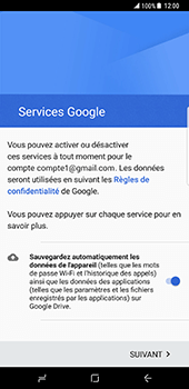 Samsung Galaxy S8 Plus - E-mail - Configuration manuelle (gmail) - Étape 14