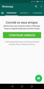 Huawei P Smart - Aplicações - Como configurar o WhatsApp -  14