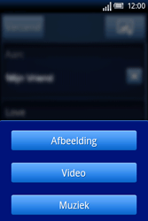 Sony Ericsson Xperia X8 - E-mail - hoe te versturen - Stap 9