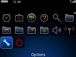 BlackBerry 8520 - Aller plus loin - Désactiver les données à l'étranger - Étape 3
