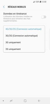 Samsung Galaxy S8 - Android Oreo - Réseau - Changer mode réseau - Étape 7