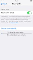 Apple iPhone 6s iOS 10 - Device maintenance - Back up - Étape 14