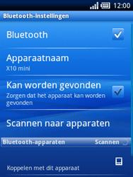 Sony Ericsson Xperia X10 Mini Pro - Bluetooth - Headset, carkit verbinding - Stap 7