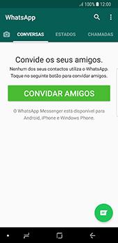 Samsung Galaxy S8 - Android Oreo - Aplicações - Como configurar o WhatsApp -  14