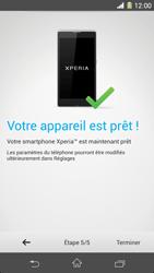 Sony Xpéria Z1 - Premiers pas - Créer un compte - Étape 27