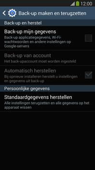 Samsung N9005 Galaxy Note III LTE - Toestel reset - terugzetten naar fabrieksinstellingen - Stap 6