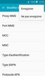 Samsung J120 Galaxy J1 (2016) - MMS - Configuration manuelle - Étape 13