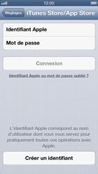 Apple iPhone 5 - Applications - Créer un compte - Étape 4
