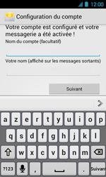 Acer Liquid Glow E330 - E-mail - Configuration manuelle - Étape 15