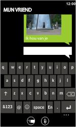 HTC 7 Trophy - MMS - Afbeeldingen verzenden - Stap 8