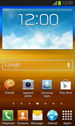 Samsung Galaxy S2 - Applications - Supprimer une application - Étape 1