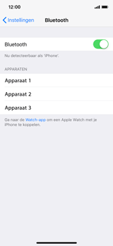 Apple iPhone X - WiFi en Bluetooth - Bluetooth koppelen - Stap 5