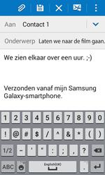 Samsung G388F Galaxy Xcover 3 - E-mail - hoe te versturen - Stap 10