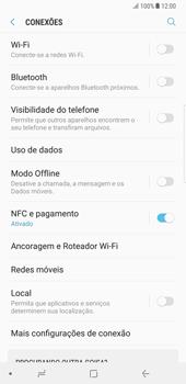 Samsung Galaxy Note 8 - Wi-Fi - Como ligar a uma rede Wi-Fi -  5
