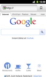 Google Nexus S - Internet - Hoe te internetten - Stap 6