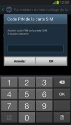 Samsung Galaxy Note 2 - Sécuriser votre mobile - Personnaliser le code PIN de votre carte SIM - Étape 7