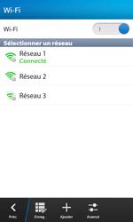 BlackBerry Z10 - Wifi - configuration manuelle - Étape 8