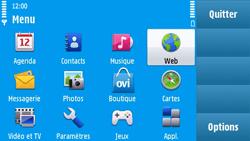 Nokia N97 - Internet - navigation sur Internet - Étape 2