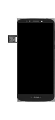 Motorola Moto E5 - Primeiros passos - Como inserir o chip da Nextel no seu celular - Etapa 6