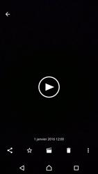 Sony Xperia XZ (F8331) - Photos, vidéos, musique - Créer une vidéo - Étape 17