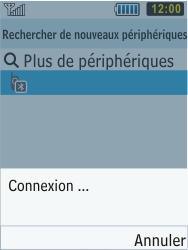 Samsung C3350 Xcover 2 - Bluetooth - connexion Bluetooth - Étape 11